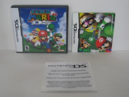 Super Mario 64 DS (CASE & MANUAL ONLY) - Nintendo DS