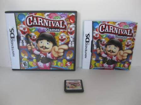 Carnival Games (CIB) - Nintendo DS Game