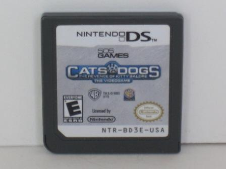 Cats & Dogs: The Revenge of Kitty Galore - Nintendo DS Game