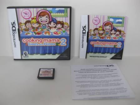 Cooking Mama 2: Dinner with Friends - Nintendo DS Game