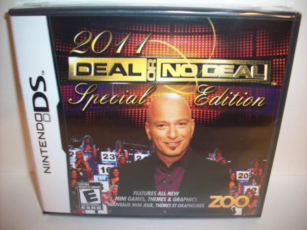 Deal Or No Deal 2011 Special Edition (SEALED) - Nintendo DS Game