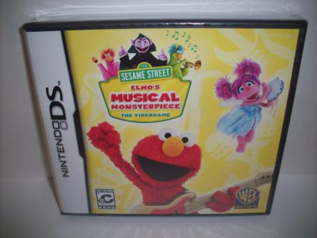 Elmos Musical Monsterpiece (SEALED) - Nintendo DS Game