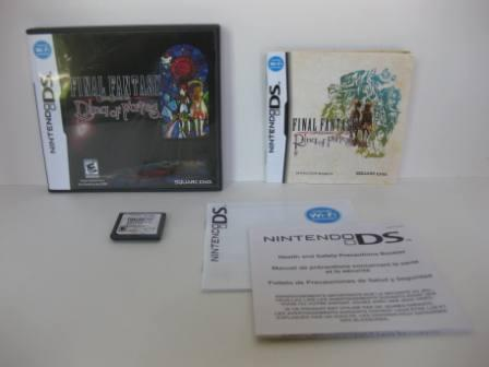 Final Fantasy Crystal Chronicles Ring of Fates -Nintendo DS Game