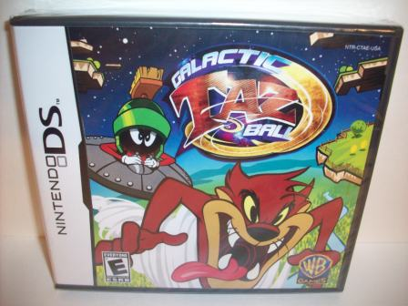 Galactic Taz Ball (SEALED) - Nintendo DS Game
