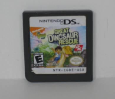 Great Dinosaur Rescue - Nintendo DS Game