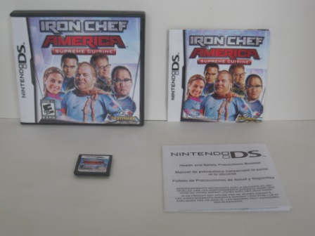 Iron Chef America: Supreme Cuisine (CIB) - Nintendo DS Game