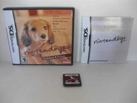 Nintendogs - Dachshund & Friends (CIB) - Nintendo DS Game