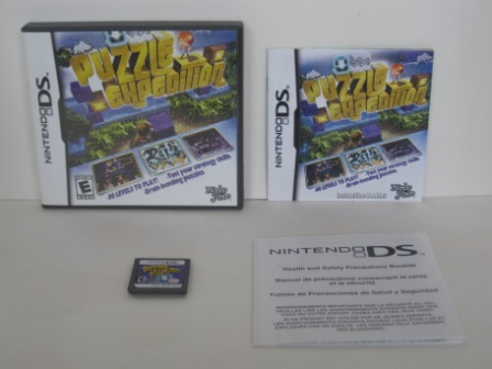 Puzzle Expedition (CIB) - Nintendo DS Game