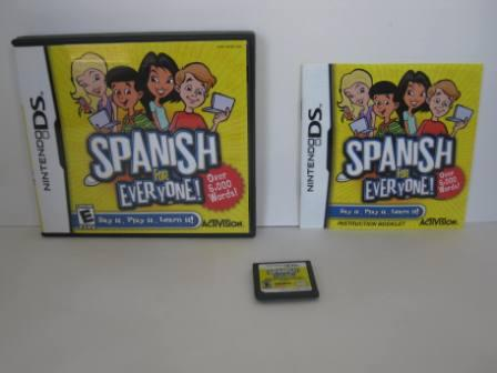 Spanish For Everyone (CIB) - Nintendo DS Game