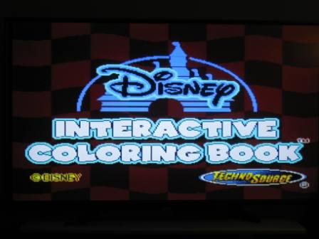 Disney Pixar Cars Interactive Coloring Book Plug Play TV Game Just Go Vintage