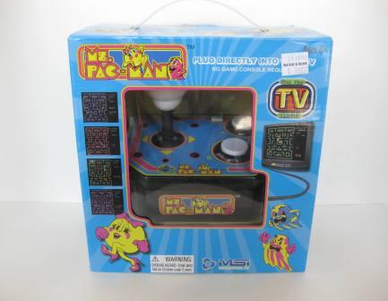 Ms. Pac-Man - Plug & Play TV Game