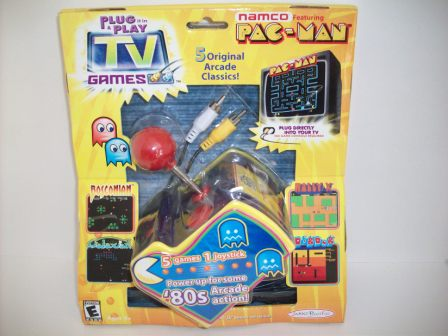 Namco Pac-Man 5 Games in 1 (SEALED) - Plug & Play TV Game