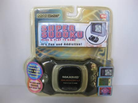 Super Sudoku (SEALED) - Plug & Play TV Game