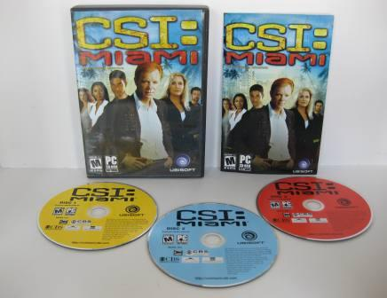 CSI: Miami (3 Disc) (CIB) - PC Game
