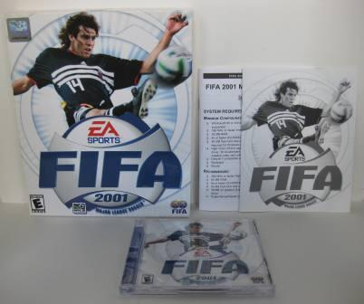 FIFA 2001: Major League Soccer (CIB) - PC Game