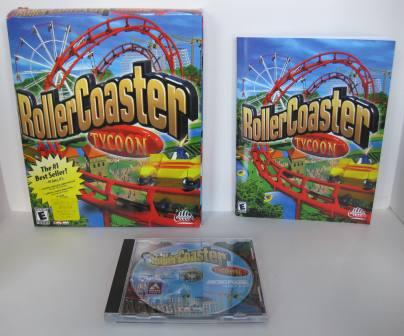 Roller Coaster Tycoon (CIB) - PC Game