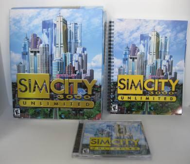SIM CITY 3000: Unlimited (CIB) - PC Game