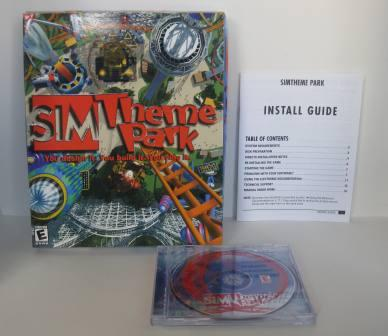 SIM Theme Park (CIB) - PC Game