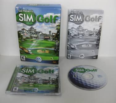Sid Meiers SIM Golf (CIB) - PC Game