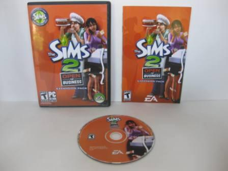 The Sims 2: Open for Business Expansion Pack (CIB) - PC Game