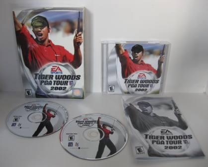 Tiger Woods PGA Tour 2002 (CIB) - PC Game