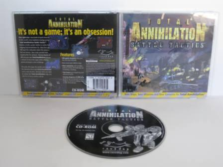 Total Annihilation: Battle Tactics (Expansion) (CIB) - PC Game
