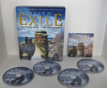 MYST III: Exile (CIB) - PC/Mac Game
