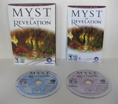 MYST IV: Revelation (CIB) - PC/Mac Game
