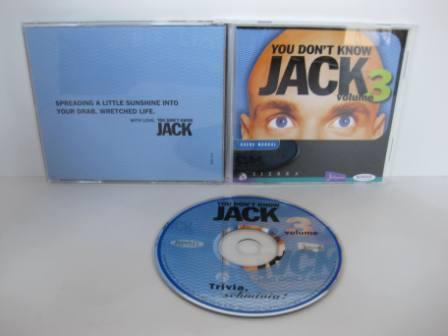 You Dont Know JACK Volume 3 (CIB) - PC/Mac Game