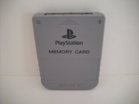 Memory Card (Grey) - PS1 Accessory