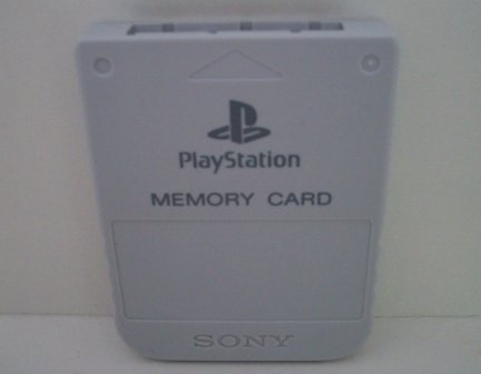 Memory Card (White) - PS1 Accessory