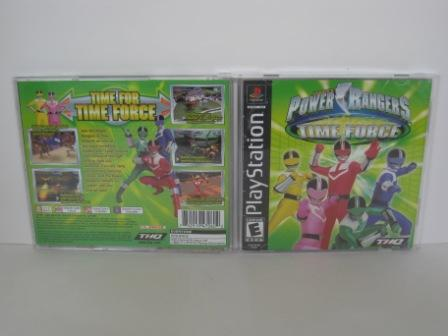 Power Rangers: Time Force (CASE & MANUAL ONLY) - PS1