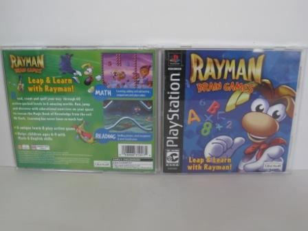 Rayman Brain Games (CASE & MANUAL ONLY) - PS1