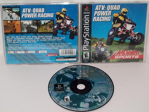 ATV: Quad Power Racing - PS1 Game