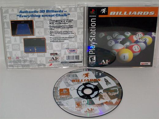 Billiards - PS1 Game