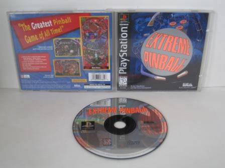 Extreme Pinball - PS1 Game