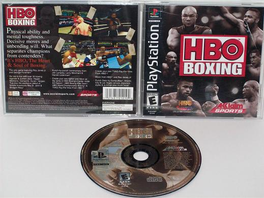 HBO Boxing - PS1 Game