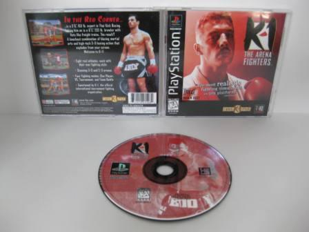 K-1 The Arena Fighters - PS1 Game