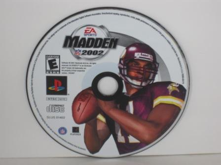 Madden NFL 2002 (DISC ONLY) - PS1 Game