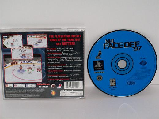 NHL FaceOff 97 - PS1 Game