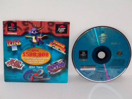 Pizza Hut Demo Disc 2 - PS1 Game