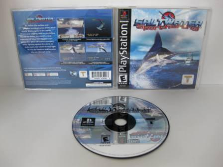 Saltwater Sports Fishing - PS1 Game