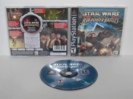 Star Wars Episode 1: Jedi Power Battles - PS1 Game