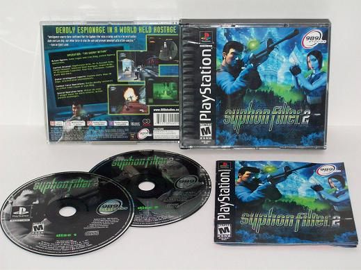 Syphon Filter 2 - PS1 Game