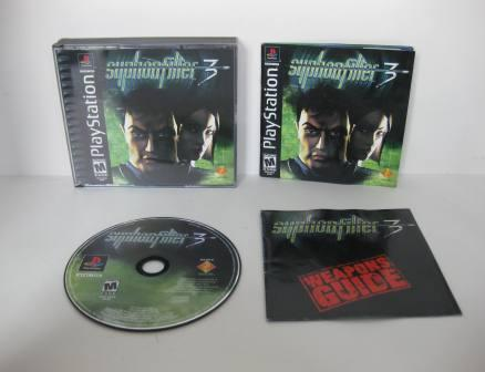 Syphon Filter 3 - PS1 Game