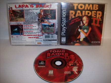 Tomb Raider II - PS1 Game