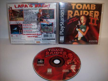 Tomb Raider Ii Ps1 Game Just Go Vintage