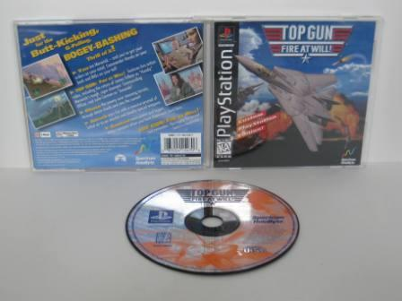 Top Gun: Fire At Will! - PS1 Game