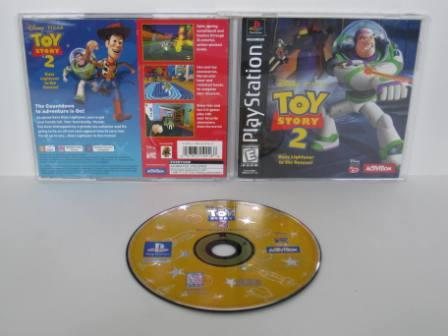 Toy Story 2: Buzz Lightyear to the Rescue! - PS1 Game