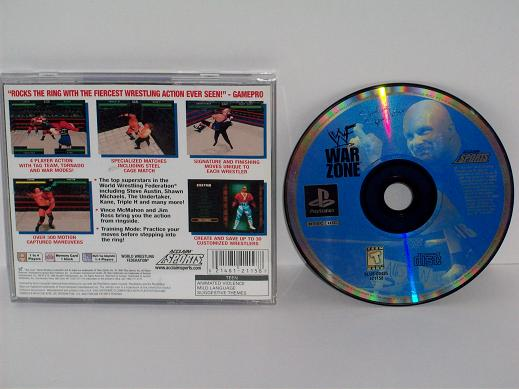 WWF War Zone - PS1 Game